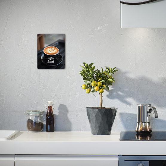 Zawieszki kawa filiżanka tabliczki 2