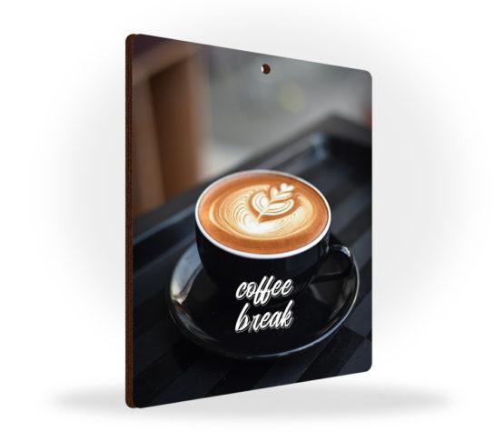 Zawieszki kawa filiżanka tabliczki