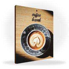 Tabliczka kawa filiżanka zawieszka