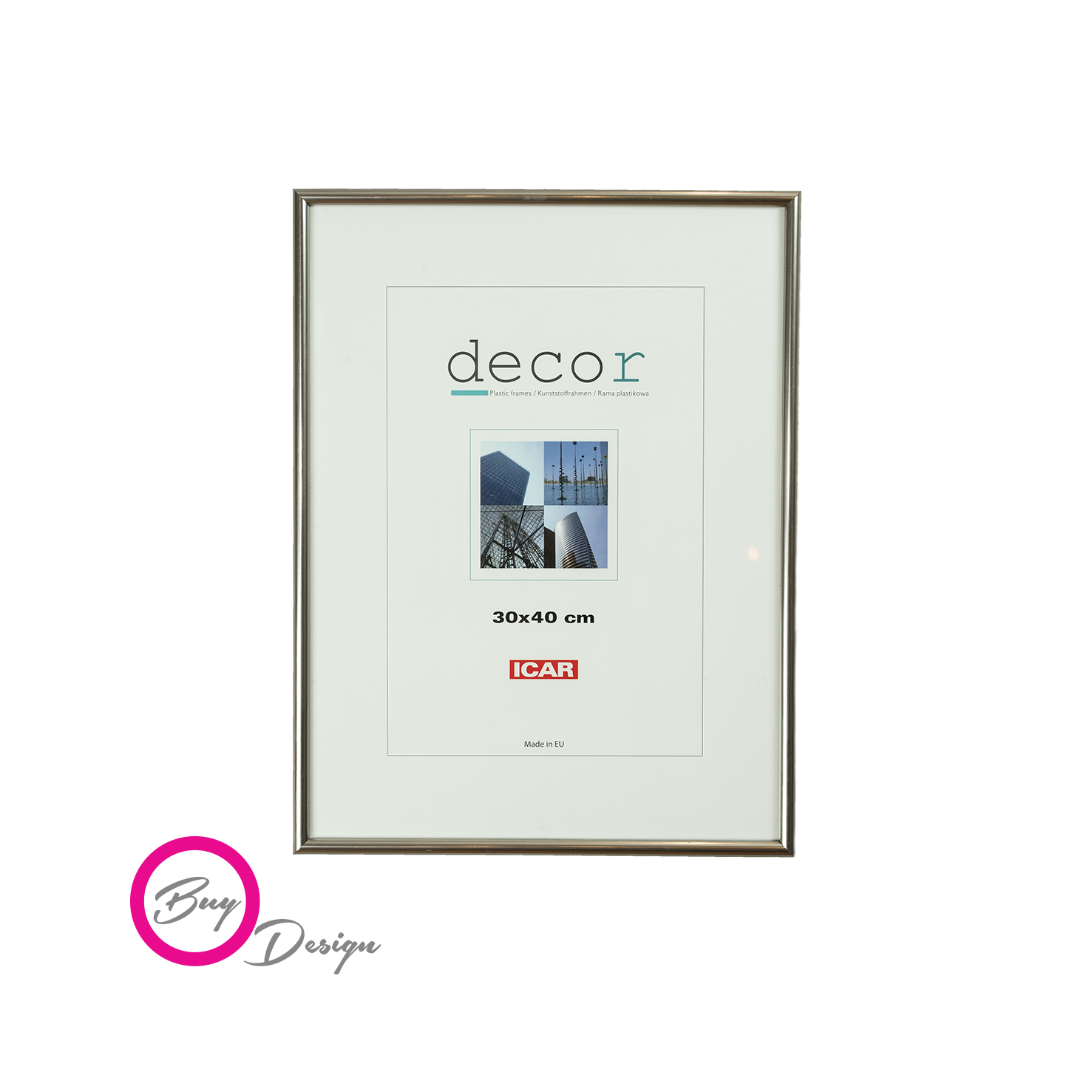 Rama metalizowana DECOR C ST 30x40 - Buy Design