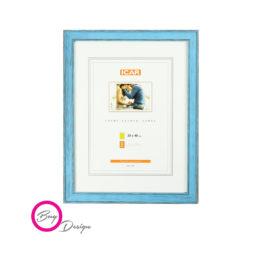 Niebieskie ramy z drewna na plakaty 30/40 - DRL U 15
