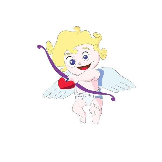 Aniołek z serduszkiem plakat do mieszkania - 6767