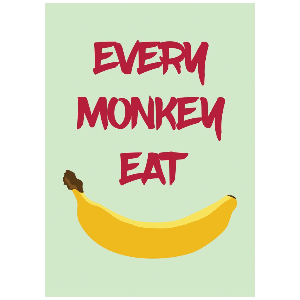 Plakat banan