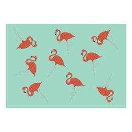 Plakat flamingi design do mieszkania - 7865