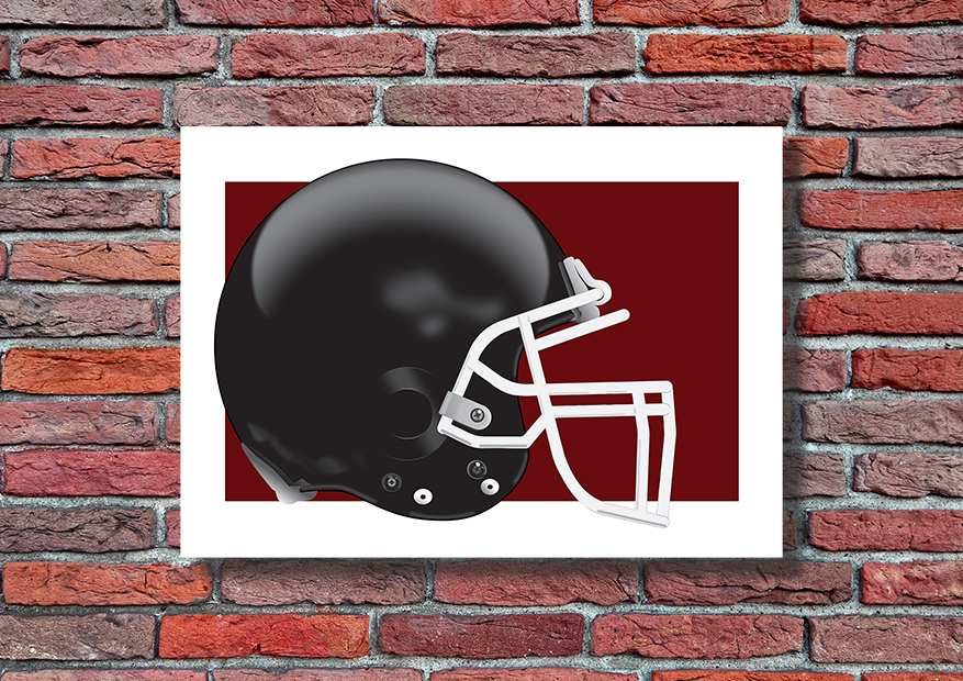 Football plakat sportowy