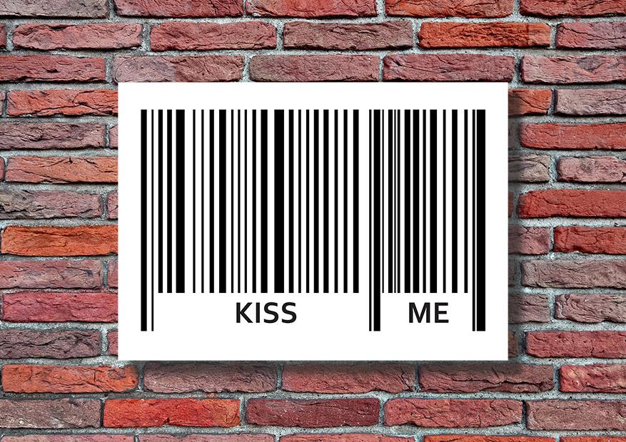 Super plakat kiss me - 9893 - Buy Design