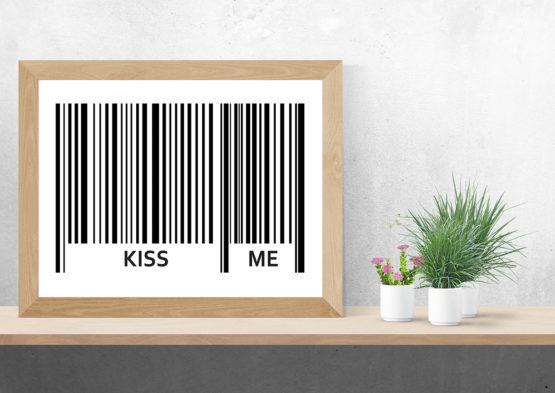 Super plakat kiss me - 9893