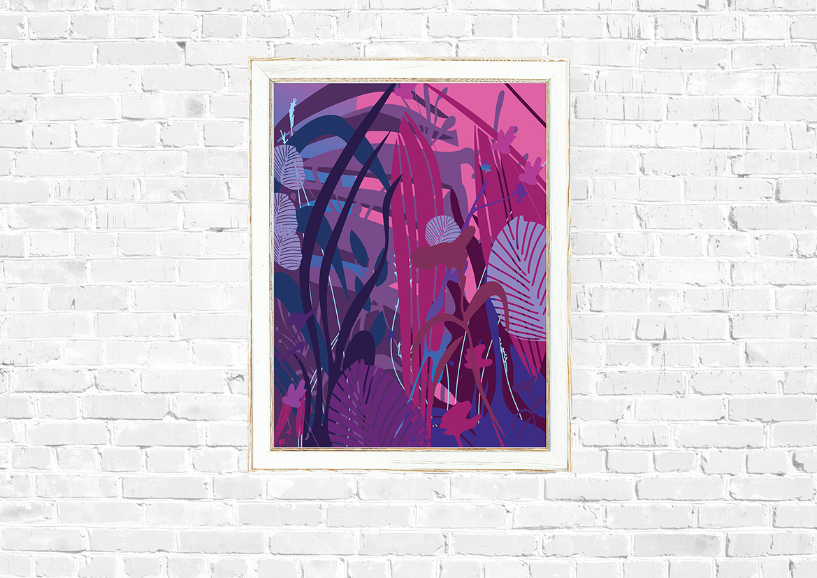 Abstrakcyjna natura plakat - 7334 - Buy Design
