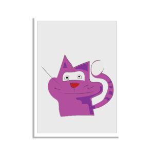 ",, Cat team"" design - plakat do pokoju dziecka"