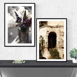 fotoplakat kwiaty