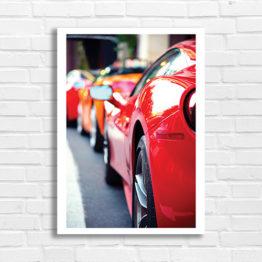 plakat samochody