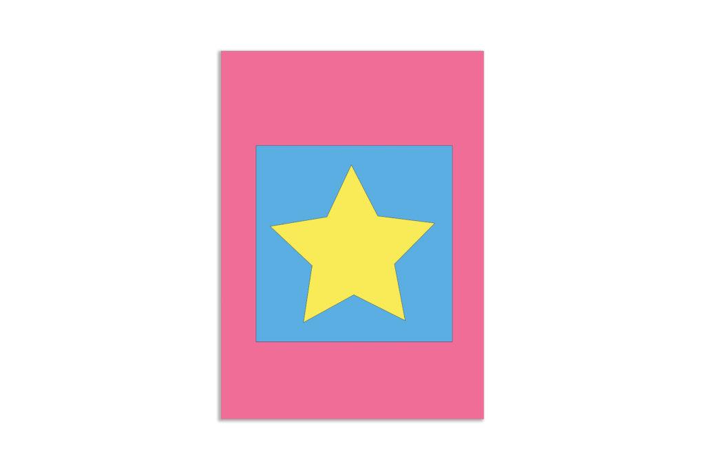 Gwiazda młodzieżowa grafika na ścianę - 6592 - Plakat