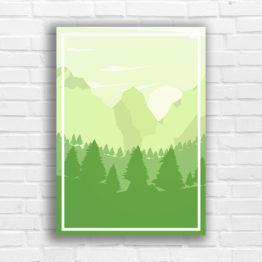 góry plakat