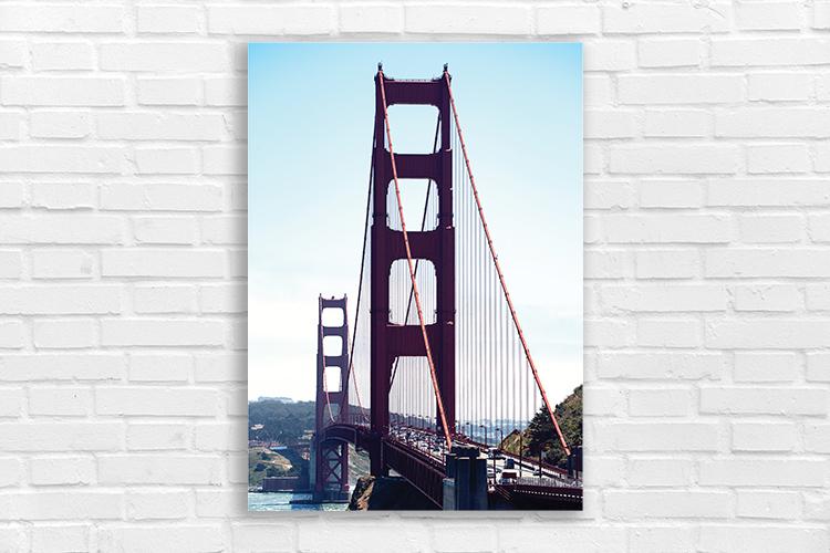 San Francisco Most Golden Gate plakat 7679 - Buy Design