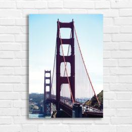 San Francisco Most Golden Gate plakat - 7679