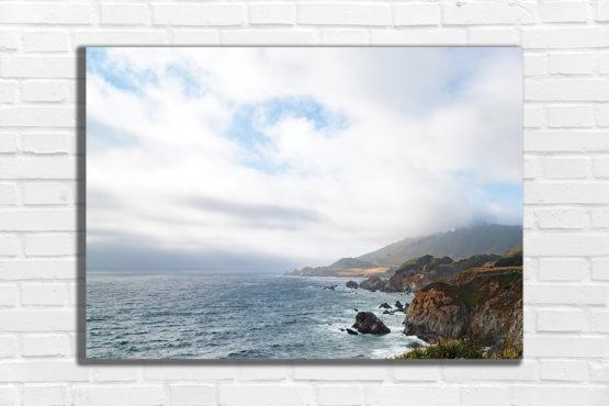 plakat krajobraz widok na ocean