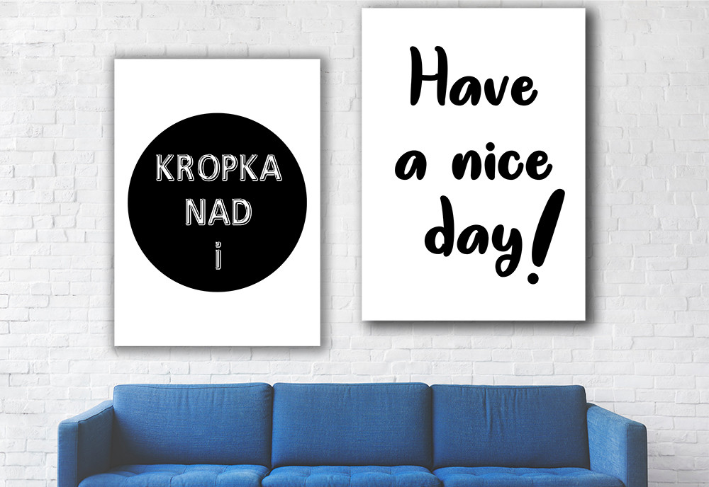 Have a nice day plakat - 6171 - Buy Design