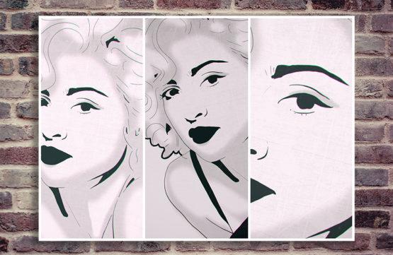 dekoracja pop art