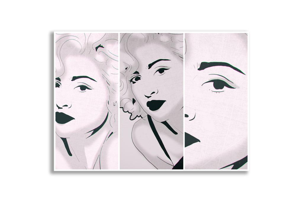 Plakat pop art do mieszkania