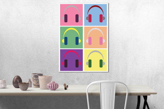 grafika pop art