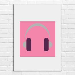 Ale muzyka młodzieżowa grafika na ścianę - 8709 - Plakat