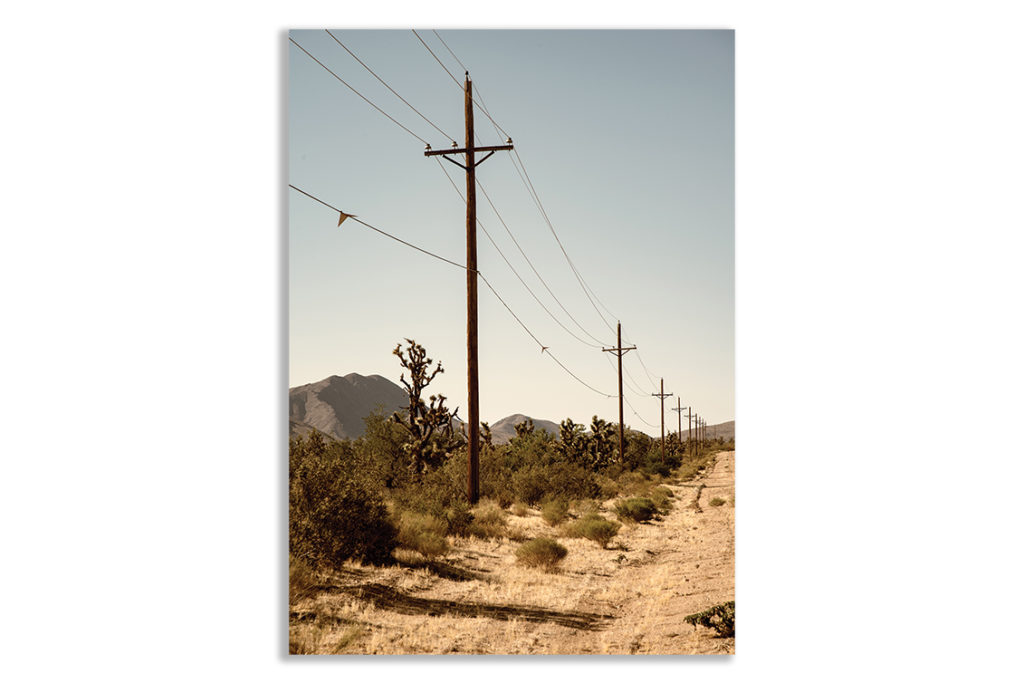 Pustynia USA fotoplakat