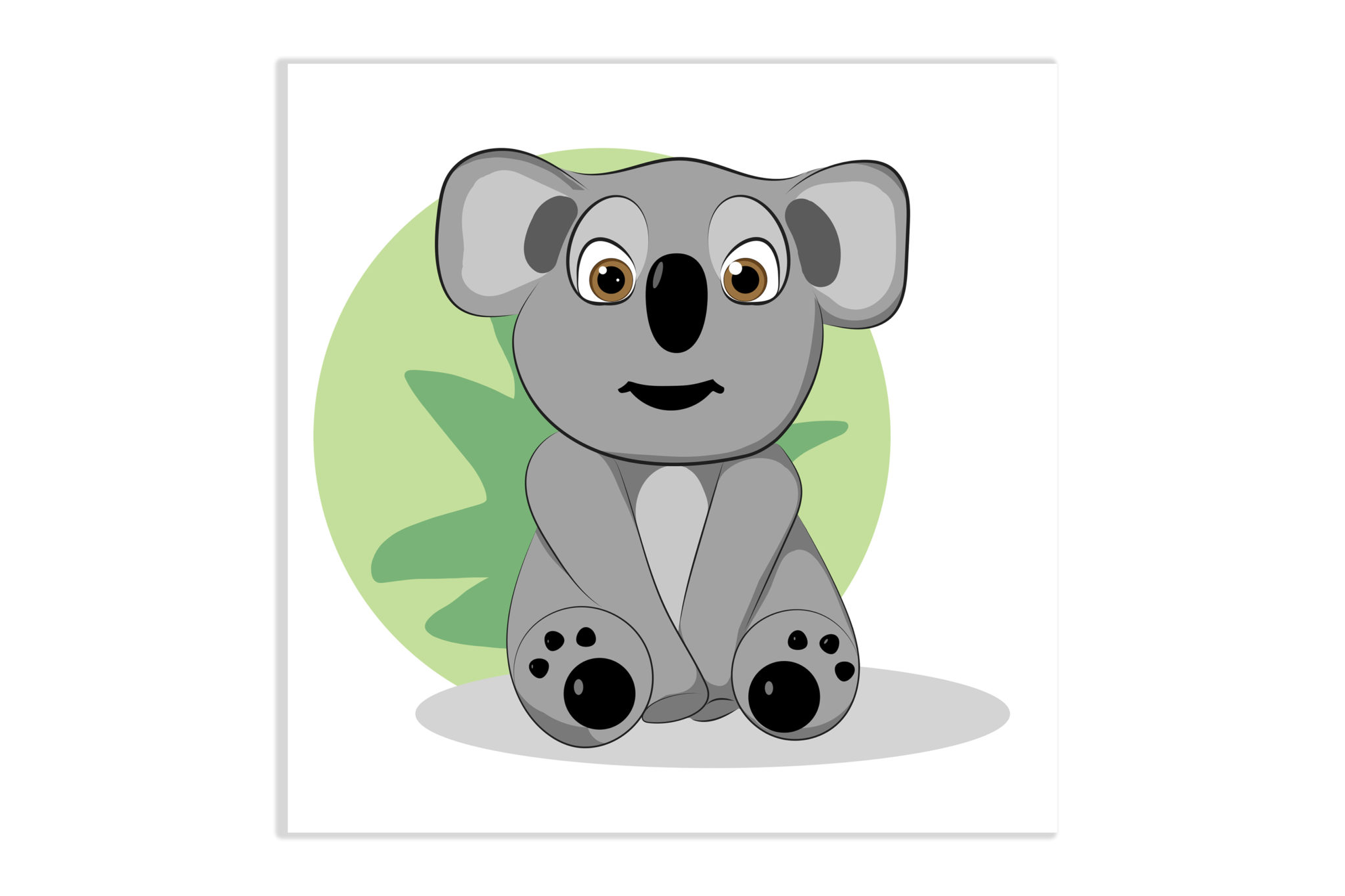 Obrazek miś koala