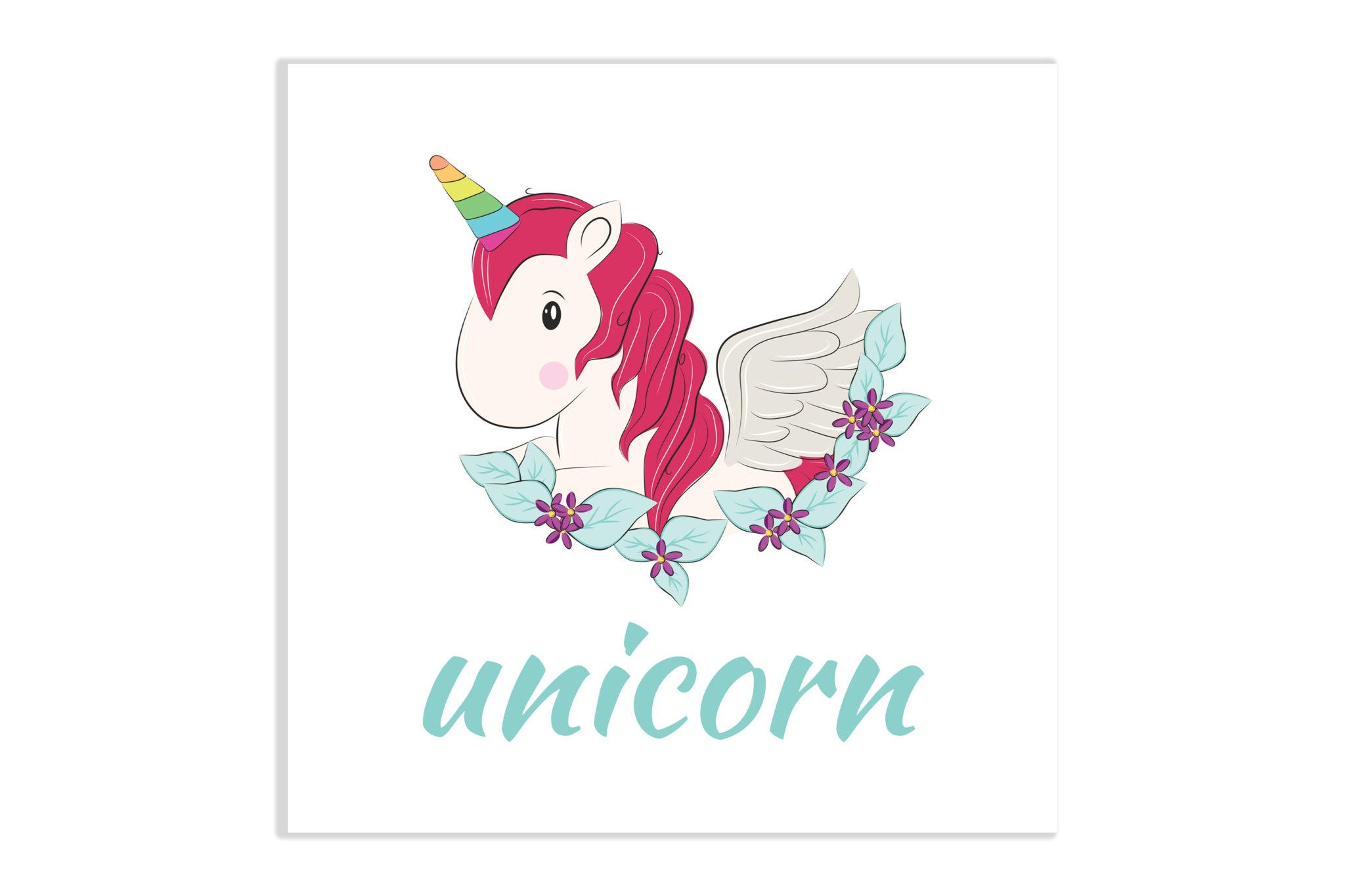 Obrazek dziecięcy Unicorn