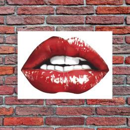 usta pop art obraz