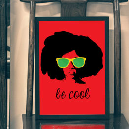 Pop Art plakat be cool