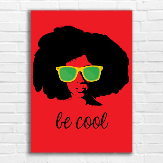 be cool plakat
