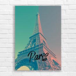 dekoracja ścienna Paryż