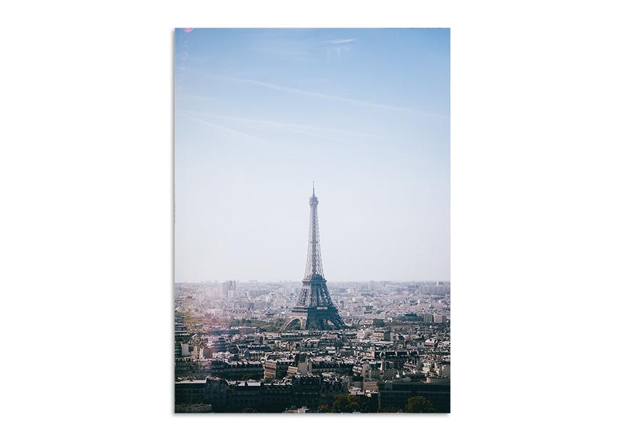 Foto plakat panorama Paryża