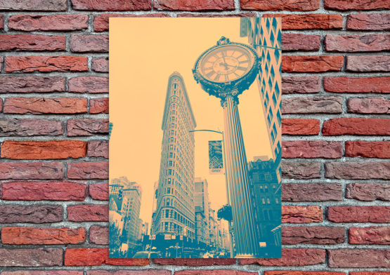 USA foto plakat pop art