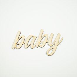 Baby napis dekoracyjny