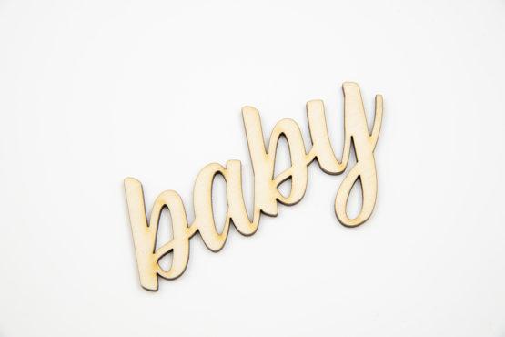 Napis dekoracyjny Baby