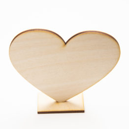 serce sklejka 3 mm