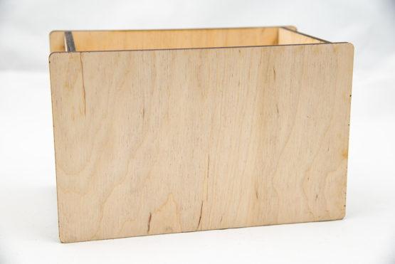drewniane pudełko