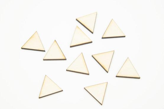 małe trójkąty na plastykę