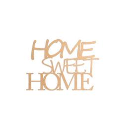 Napis 3D home sweet home
