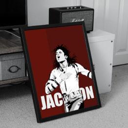 Wokalista Michael Jackson plakat