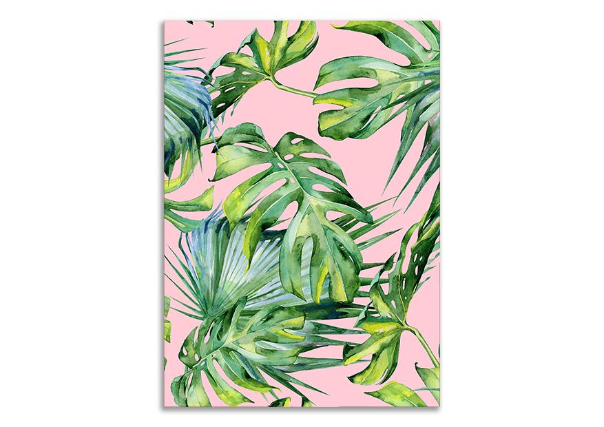 Natura plakat liście