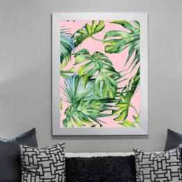 natura plakat do salonu