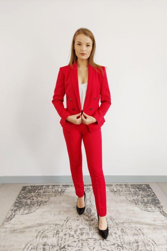 Wełniany damski garnitur