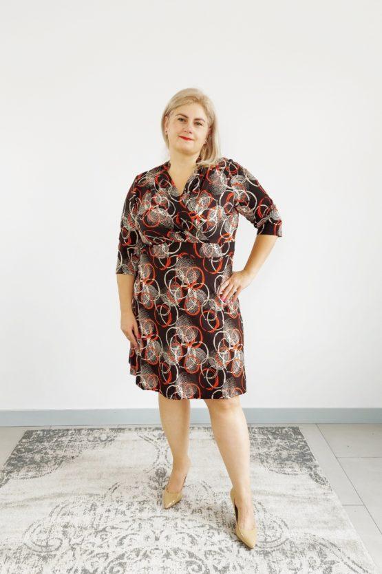 klasyczna sukienka plus size