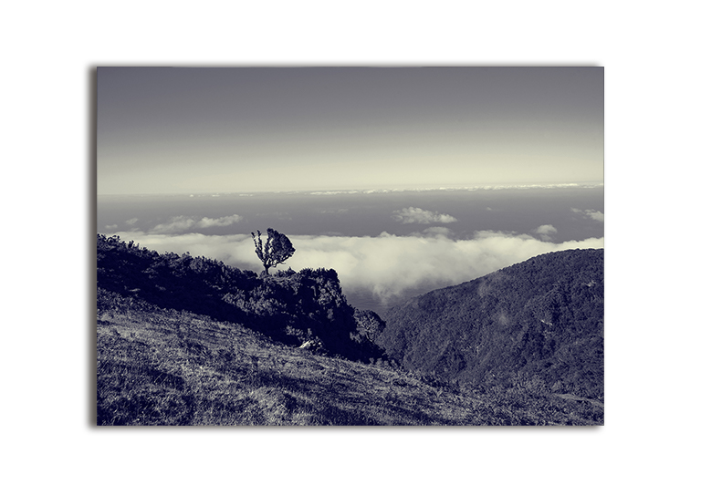 Plakat niebo góry natura