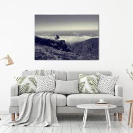 Plakat niebo góry natura 2