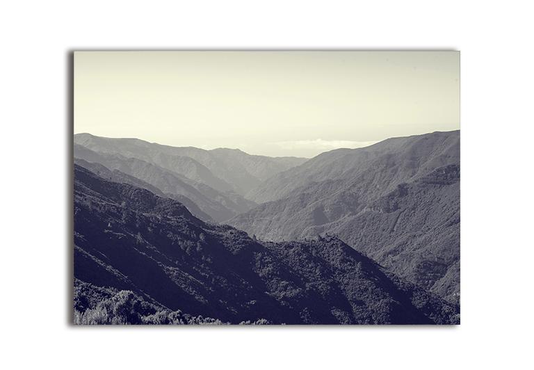 Plakat góry krajobraz