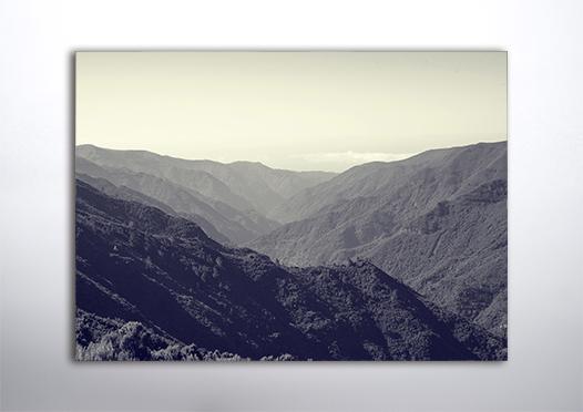 Plakat góry krajobraz 3