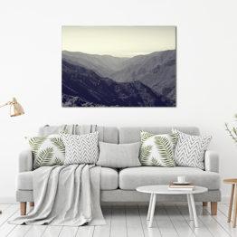 Plakat góry krajobraz 2